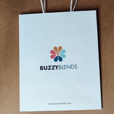 Buzzyblends high quality gift paper bag