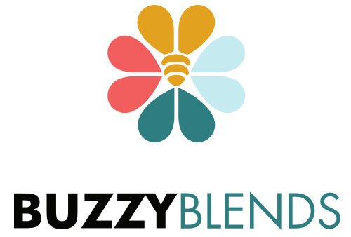 Buzzy Blends Honey Logo